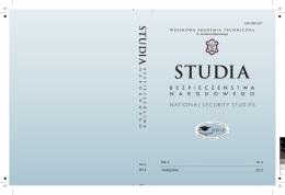 Studia Bezpieczeństwa Narodowego nr 4