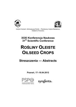 żywienie kliniczne 2015 - Polskie Towarzystwo Żywienia Klinicznego