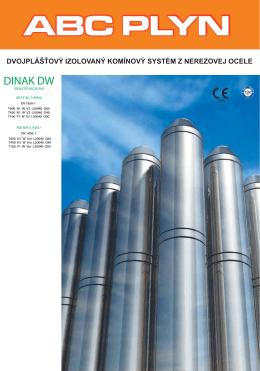 Izolovaný nerezový systém Dinak DW