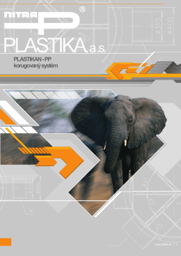 Plastikan-PP korugovaný systém