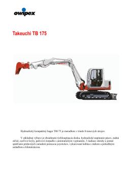 Technické parametre v PDF