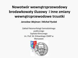 IPMN_i_inne_MATERIALY - Zakład Patomorfologii CMKP