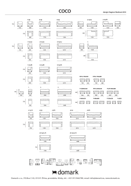 Domark s.r.o., P.O.Box C-42, 010 01 Žilina, prevádzka: Hôrky, tel.: +