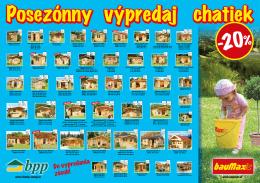 Záhradná chatka BPP 7A