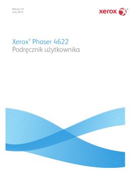 Xerox® Phaser 4622 Podręcznik użytkownika