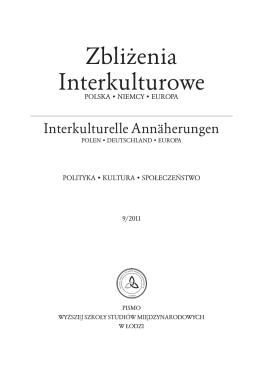 zeszyt nr 09/2011 - Zbliżenia Interkulturowe