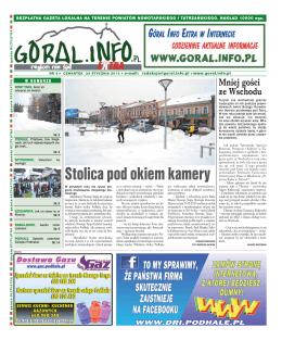 Nr 4/2013 - Goral info