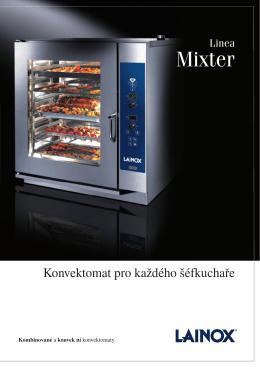 Prospekt konvektomat Lainox Mixter 2009 CZ
