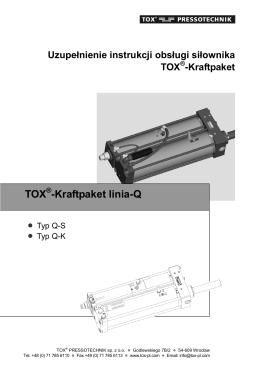 TOX -Kraftpaket linia-Q - Tox Pressotechnik sp. z o.o.