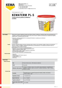 KEMATERM PL-S