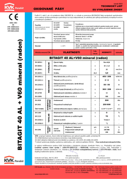 BITAGIT 40 AL+V60 mineral (radon)