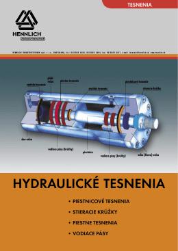 HYDRAULICKÉ TESNENIA