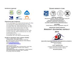 horizonty železničnej dopravy - Spoločnosť dopravy SVTS
