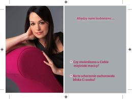 Mięśniaki macicy - Poradnik w .pdf do pobrania