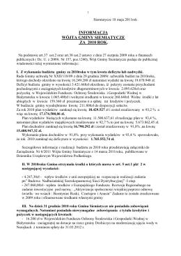 Dodatkowe informacje i objaśnienia 2013-2014