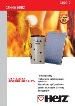 Herz - solárne systémy 2013 [PDF]