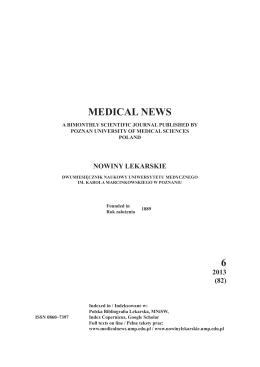 MEDICAL NEWS 6