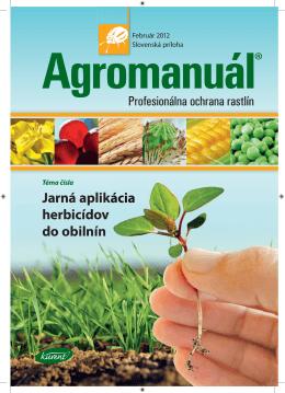 Téma čísla Jarná aplikácia herbicídov do obilnín