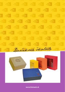 Darčekové škatule