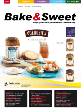 listopad 2014 - Bake & Sweet