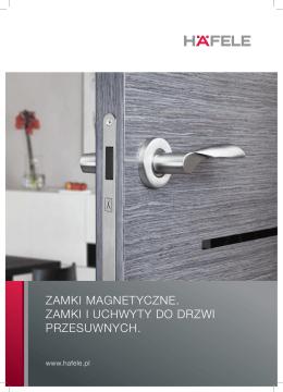 Zamki magnetyczne - Häfele Polska Sp. z oo
