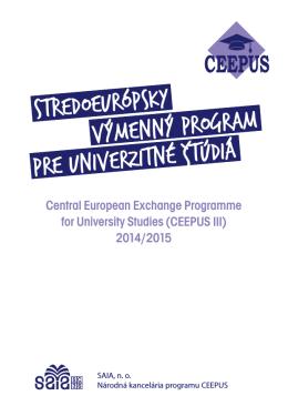stredoeurópsky výmenný program pre univerzitné štúdiá
