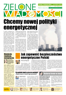 Jak zapewnić bezpieczeństwo energetyczne Polski