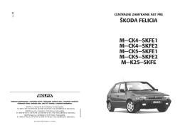 M-CK4-SKFE1 M-CK4-SKFE2 M-CK5-SKFE1 M-CK5