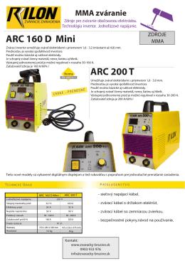 RILON ARC 160 mini TL velky
