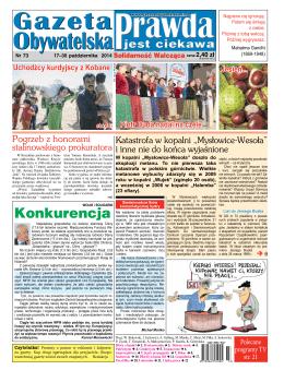 Numer 73 - Gazeta Obywatelska
