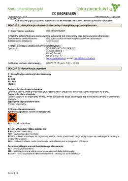 ! CC Degreaser - Bio Produkty Polska