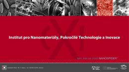 Centrum pro nanomateriály, pokročilé technologie a inovace