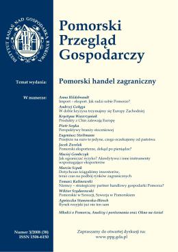 pobierz pdf - Pomorski Przegląd Gospodarczy