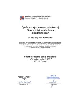 Stredná odborná škola, Lučenecká cesta 2193/17 Zvolen