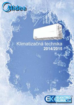Katalóg MIDEA 2014