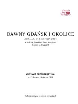 DAWNY GDAŃSK I OKOLICE