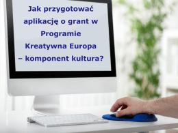 Prezentacja - Kreatywna Europa