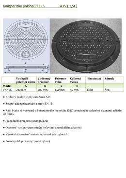 Kompizitné poklopy kruhové PDF - NAL