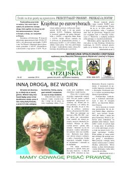 numer 42 - Mazurskie Stowarzyszenie Aktywności Lokalnej w Orzyszu