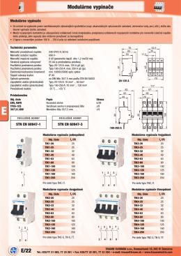 PDF 1,6 MB - ROTEX ELEKTRO sro