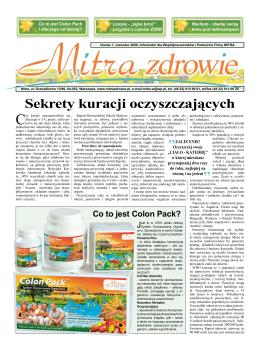 nasza gazeta Numer 1, czerwiec 2009