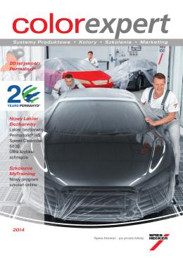 20 lat jakości Permahyd® Nowy Lakier Bezbarwny