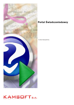 Portal Świadczeniodawcy - Aplikacje Internetowe Łódzkiego