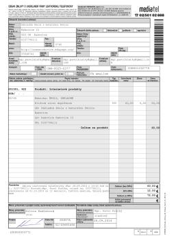 CRM-0025-0377 CON001232779 26.09.2014 Silvia Kadlecová