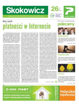 Załącznik do komunikatu prasowego z dnia 17.05.2013 r.
