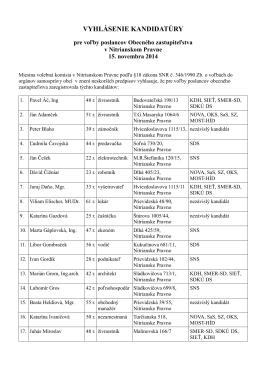 Vyhlásenie kandidatúry vo formáte PDF
