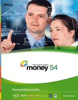 Používateľská príručka Money S4