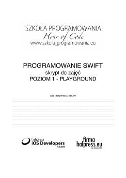 ! PROGRAMOWANIE SWIFT!