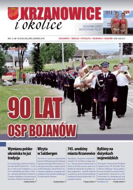 nr 7-8, 2010 - Urząd Miejski Krzanowice
