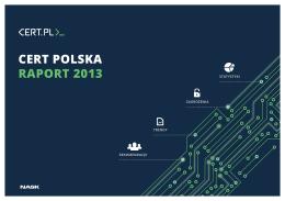 CERT POLSKA RAPORT 2013
